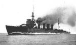 Light cruiser Sendai, date unknown