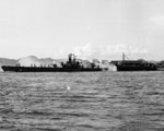 USS Sennet off the Panama Canal Zone, Jun 1946