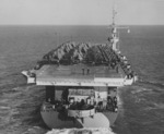 USS Shamrock Bay underway, 10 Nov 1944