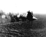 Shoho heavily damaged, late afternoon of 7 May 1942