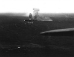 Shokaku under attack at Coral Sea, 8 May 1942