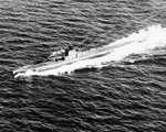 USS Snook undergoing sea trials, 8 Jan 1943