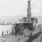 USS Spot at Pearl Harbor, Hawaii, United States, 1961, photo 2 of 2