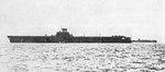Taiho underway, date unknown, photo 1 of 2; note Shokaku-class carrier in background