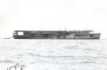 Escort carrier Taiyo at Yokosuka, Japan, 30 Sep 1943
