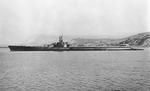 USS Tang off Mare Island Navy Yard, Vallejo, California, United States, 2 Dec 1943, photo 1 of 2