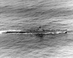 Tautog underway, 29 May 1945