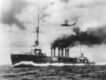 Tenryu underway, circa late 1919
