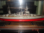 Original model of battleship Texas made sometime in the late-1920s/early-1930s, currently in the ship