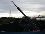 A 20mm anti-aircraft gun aboard Texas, 2007