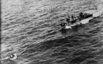 HSL 2641 rescuing downed US Navy airmen whose PB4Y-1 bomber had been shot down by Germans over the Bay of Biscay, 15 Feb 1944