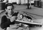 Building a model of the Tirpitz on board the Tirpitz