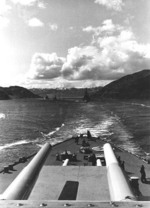 Photo taken from atop Tirpitz