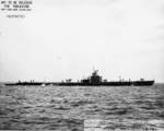 USS Tunny off Mare Island Naval Shipyard, Vallejo, California, United States, 6 Nov 1942