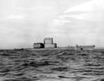 Starboard view of USS Tunny, circa mid-1950s