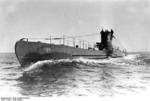 German submarine U-36 at sea, late 1936, photo 2 of 3