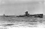 German submarine U-36 at sea, late 1936, photo 3 of 3