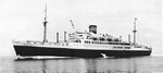 Luxury liner Yawata Maru, circa 1940-1941; she was converted to escort carrier Unyo during the war