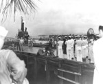 USS Wahoo arriving at Pearl Harbor, US Territory of Hawaii, 7 Feb 1943
