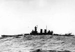 USS Washington underway in the Atlantic Ocean, 22 Apr 1942