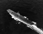USS Wasp (Essex-class) underway off Trinidad, 22 Feb 1944, photo 1 of 2