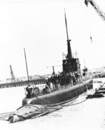 USS Whale at Naval Air Station Alameda, California, United States, 30 Jul 1942