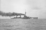 Yamashiro running trials off Tateyama, Japan, 19 Dec 1916