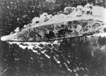 Yamato in action in the Sibuyan Sea, 24 Oct 1944, photo 1 of 2