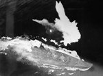 Battleship Yamato under aerial attack in the East China Sea, 7 Apr 1945