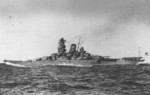 Yamato on trials, 30 Oct 1941, photo 2 of 4