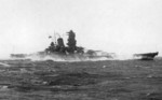Battleship Yamato underway, circa late 1941, photo 1 of 2
