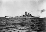 Yamato on trials, 30 Oct 1941, photo 4 of 4
