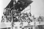 Launching ceremony of cruiser Pinghai, Shanghai, China, 28 Sep 1935