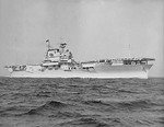 USS Yorktown underway, 21 Jul 1937