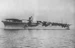 Zuikaku on her first day of service, 25 Sep 1941, photo 2 of 2