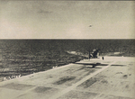 B5N2 torpedo bomber taking off from carrier Zuikaku to attack Pearl Harbor, US Territory of Hawaii, 0720 hours on 7 Dec 1941
