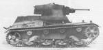 Single turret 7TP light tank at rest, date unknown
