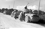 Italian AB 41 armored cars in the Balkan Peninsula, 1943
