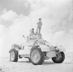 AEC Mk I armored car in the Western desert, Egypt, 20 Sep 1942
