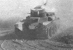 BT-2 machine gun tank in exercise, circa early- or mid-1930s