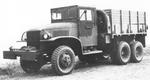 Late GMC CCKW 2 1/2-ton 6x6 open cab short wheel base transport with winch, Jan 1944
