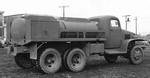GMC CCKW 2 1/2-ton 6x6 closed cab gasoline tanker, 1940; it was capable of carrying 750 gallons of fuel