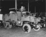 GMC CCKW 2 1/2-ton 6x6 open cab long wheel base transport with gun ring being prepared for shipment to North Africa, Hampton Roads, Virginia, United States, 27 May 1943