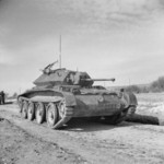 Cruiser Mk V Covenanter III tank, 11 Mar 1942