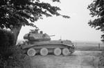 British Cruiser Mk IV tank at Huppy, France, 26-29 May 1940