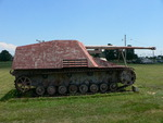 German Hornisse/Nashorn tank destroyer on display at the United States Army Ordnance Museum, Aberdeen Proving Ground, Maryland, United States, 12 Jun 2007