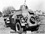 Humber Light Reconnaissance Car Mk IIIA, date unknown, photo 3 of 3; note lack of weapons
