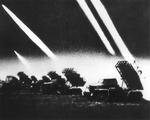 BM-31 Katyusha rocket launchers in combat, 1944-1945