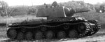 Russian KV-1 Model 1939 heavy tank, date unknown