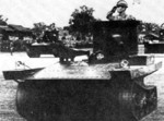 Chinese Army Light Amphibious Tank, 1930s
